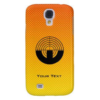 Yellow Orange Sport Shooting HTC Vivid Covers