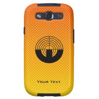 Yellow Orange Sport Shooting Samsung Galaxy S3 Covers