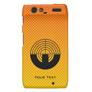 Yellow Orange Sport Shooting Droid RAZR Covers