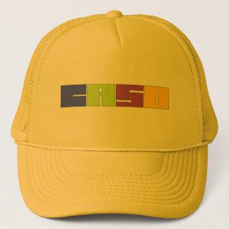 Yellow Orange Trucker Hat