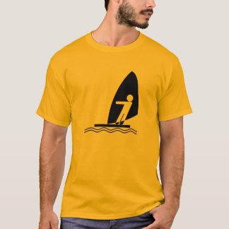 Yellow Orange Windsurfing T-Shirt