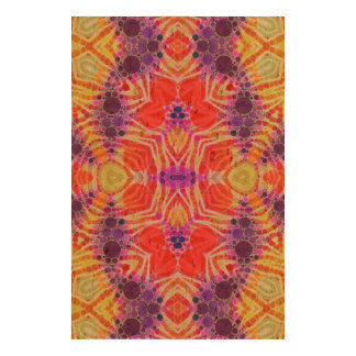 Yellow Orange Zebra Funk Cork Fabric