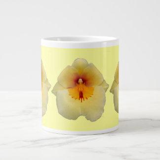 Yellow Orchid Jumbo Mug