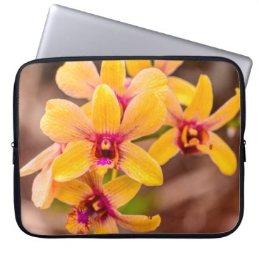 Beach Themed Yellow Orchid, Lawai, Kauai, Hawaii Wetsuit Laptop Sleeve