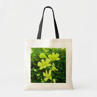 Yellow Orchids Bag