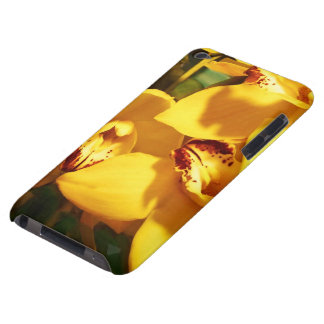 YELLOW ORCHIDS HOLIDAY GIFT BARELY THERE iPod COVERS