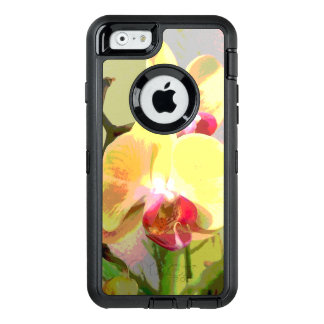 Yellow Orchids in the afternoon sun OtterBox Defender iPhone Case