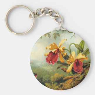 Yellow Orchids Keychain