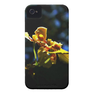 Yellow Orquídea iPhone 4 Case-Mate Case