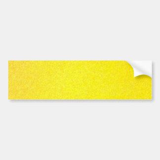 Yellow outside bumper sticker