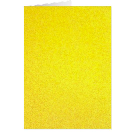 Yellow outside card