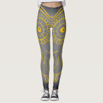 Yellow Owl Legging Pants