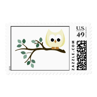 Yellow Owl Stamps