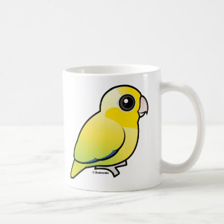 Yellow Pacific Parrotlet Coffee Mugs