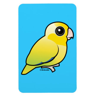 Yellow Pacific Parrotlet Magnets