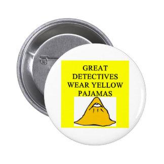 YELLOW pajamas Pinback Buttons