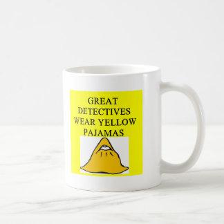 YELLOW pajamas Mugs