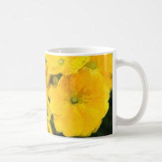 Yellow Pansies Coffee Mug