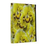 Yellow Pansies iPad Folio Case