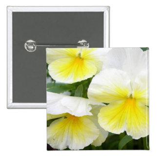 Yellow Pansies Pin