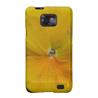 Yellow Pansy Floral Samsung galaxy case Galaxy SII Case