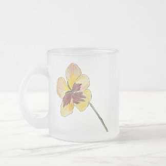 Yellow Pansy Mug
