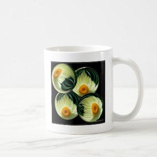 Yellow Paper Daisy Classic White Coffee Mug
