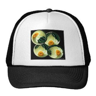 Yellow Paper Daisy Trucker Hat
