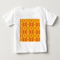 Yellow Pattern Baby T-Shirt