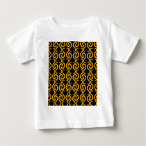 Yellow pattern baby T-Shirt