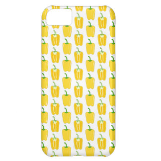 Yellow Pattern of Peppers. Cover For iPhone 5C