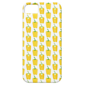 Yellow Pattern of Peppers. iPhone SE/5/5s Case