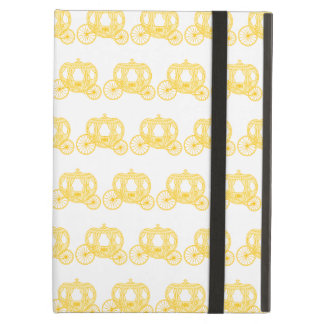 Yellow Pattern of Princess Carriages iPad Air Case