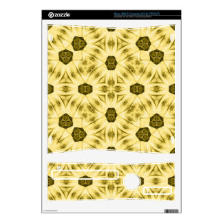 Yellow Pattern Skins For The Xbox 360 S