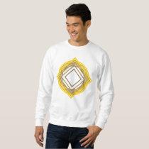 yellow pattern sweatshirt