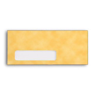 Yellow Patterned Background. Envelope