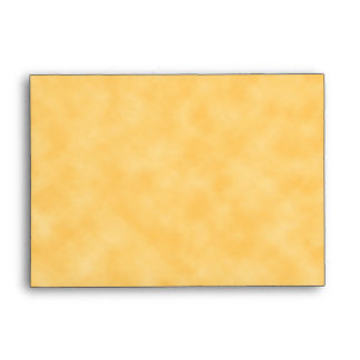 Yellow Patterned Background. Envelopes