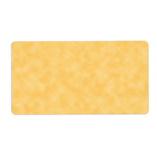 Yellow Patterned Background. Label