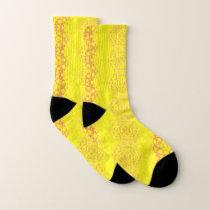 Yellow Patterned Socks