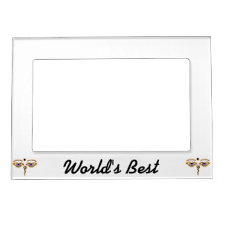 Yellow peach Buddha Eyes.png Magnetic Frame