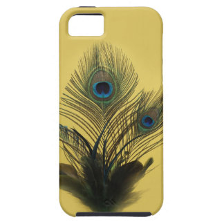 Yellow Peacock Feathers iPhone 5 Vibe Case
