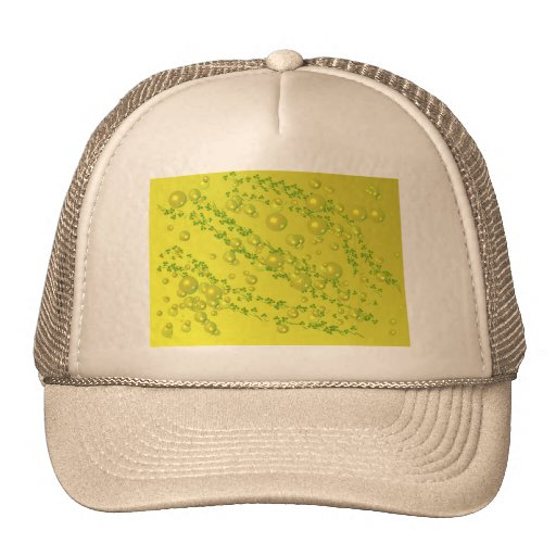 yellow pearl Hat