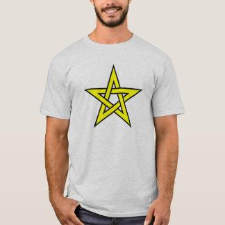 Yellow Pentagram T-Shirt