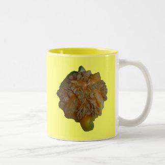 Yellow Pepper - wraps off Coffee Mugs