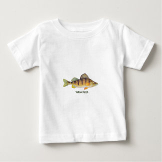 Yellow Perch (titled) Tee Shirts