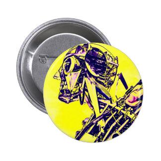Yellow Peril Pin
