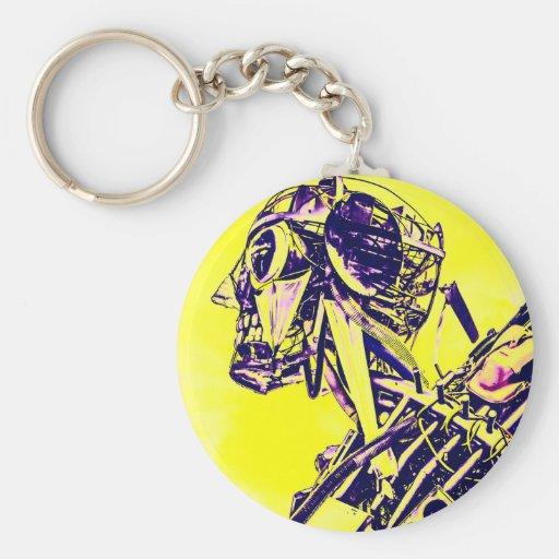 Yellow Peril Keychain