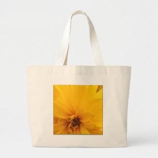 Yellow Petals Jumbo Tote Bag