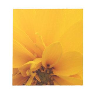 Yellow Petals Memo Notepads