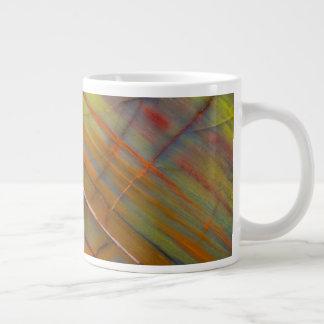 Yellow Petrified Wood Giant Coffee Mug